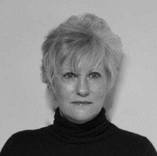 portrait noir et blanc d'Alice Riplinger